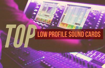 Low Profile Sound Cards