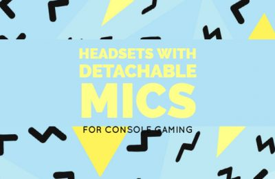 Headsets With Detachable Mics