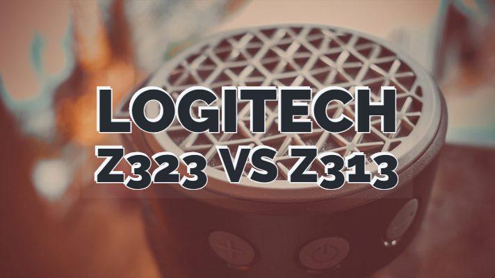Logitech z323 vs z313