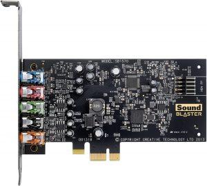 Sound Blaster Audigy FX vs RX vs Asus Xonar DGX