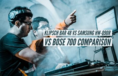 Klipsch Bar 48 vs Samsung HW-Q90R vs Bose 700 Specs Comparison