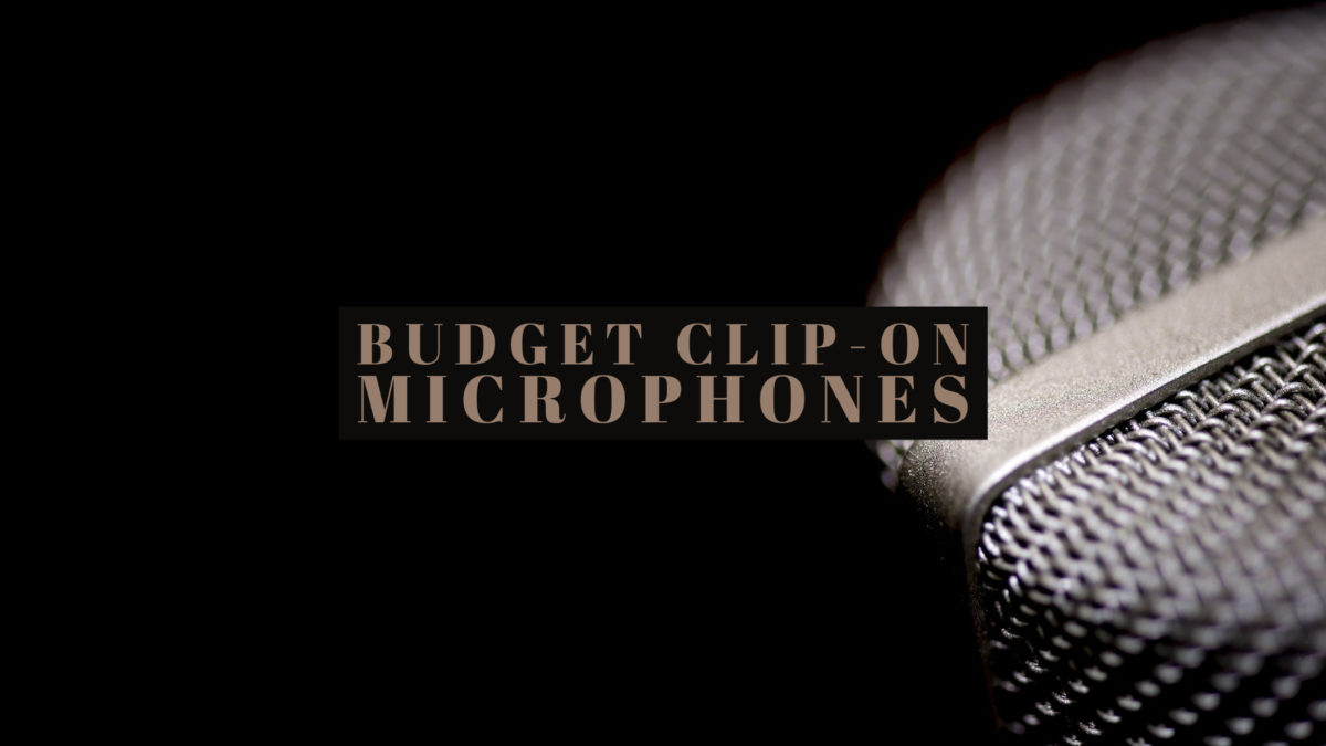 Budget Clip-on Microphones
